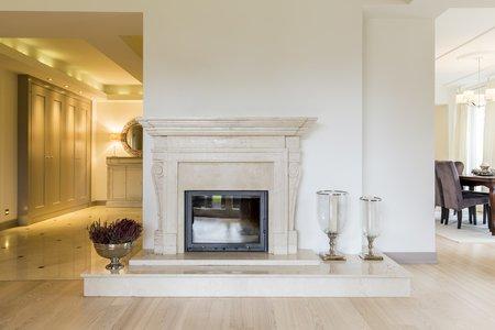 nettoyage cheminée marbre