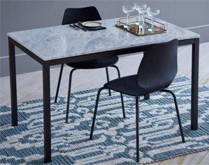 nettoyer table marbre