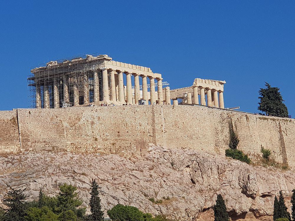 Parthénon Acropole Athènes