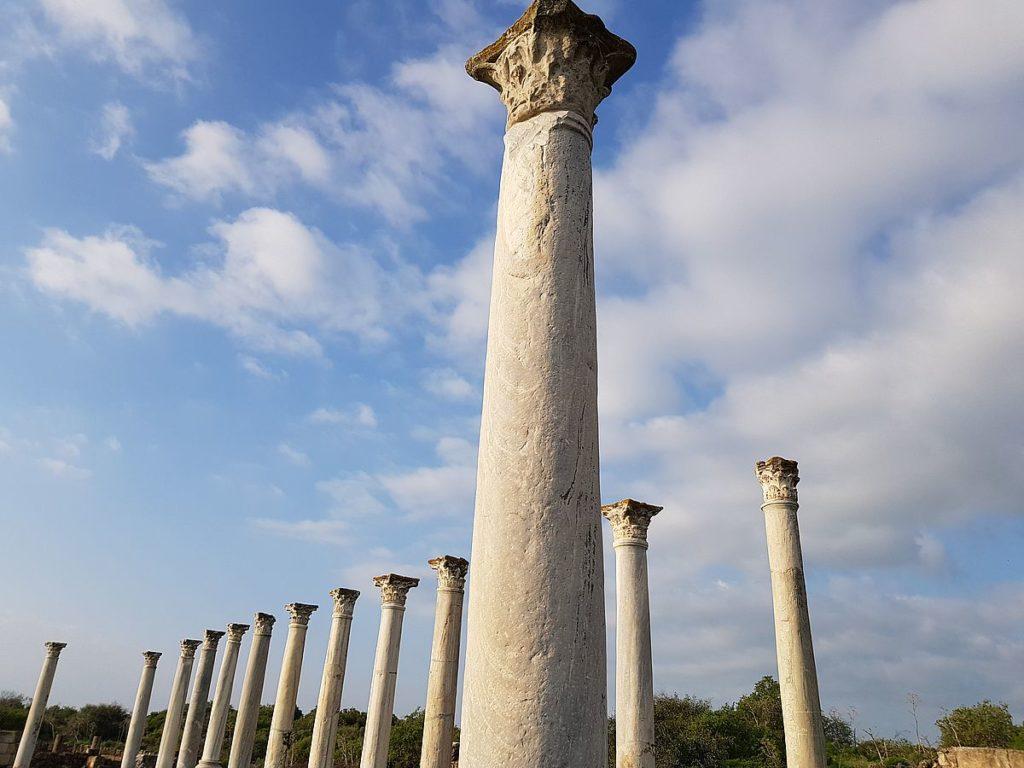 colonnes salamine